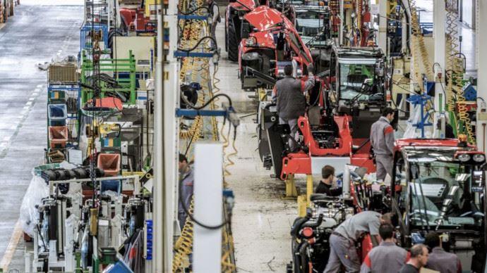 Les usines Manitou toujours à l'arrêt en France, en Italie et en Inde.