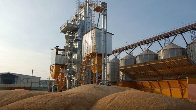 Silos blé