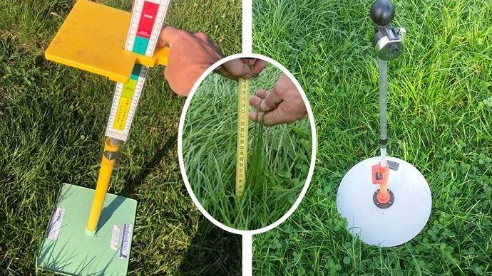 Herbomètres: outils de mesure de l'herbe