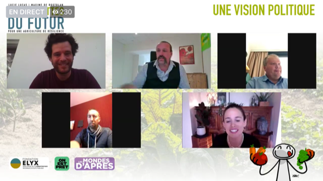 Benoit Biteau, Jean-Baptiste Moreau, Christiane Lambert et Nicolas Girod, entre autres, ont participé au débat #6 des