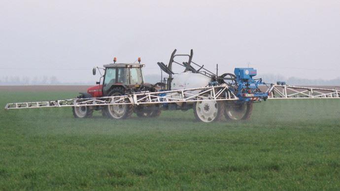 Pulvérisation-agricole