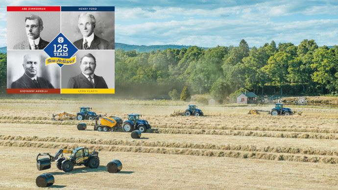 125e anniversaire New Holland