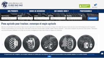 Allpneus vend des pneus en ligne et livre en 1 à 3 jours