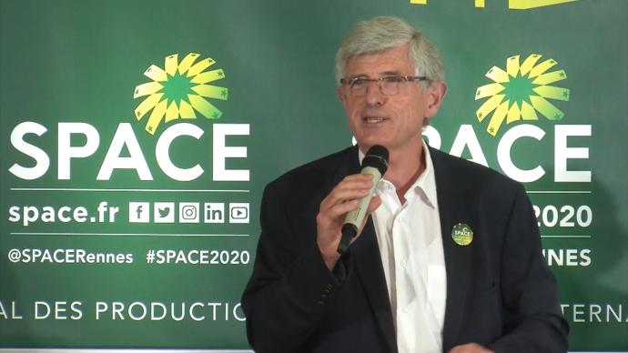 Le président du Space, Marcel Denieul, a dévoilé le 15 juillet les nouveauté de cette édition très particulière en raison de la crise sanitaire