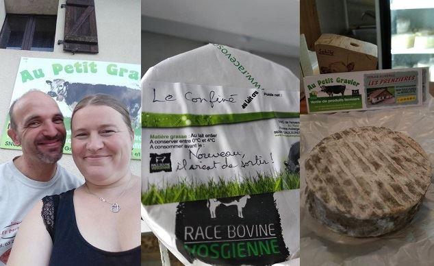 le confine nouveau fromage vosgien ne pendant le confinement lie au covid 19