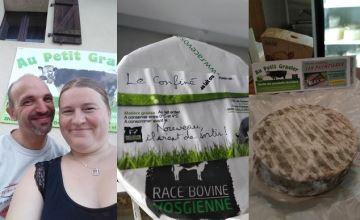 «Le confiné », nouveau fromage vosgien né «par hasard» pendant le confinement