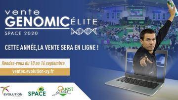 Top départ pour la vente Genomic élite 2020 en ligne