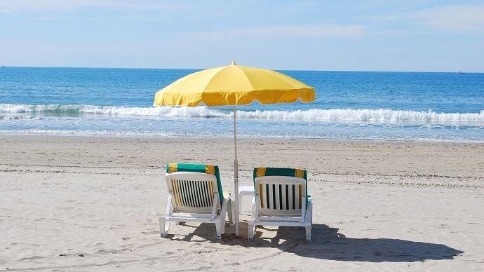 Vacances d'été à la mer