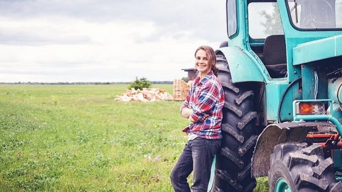 Femme agricultrice