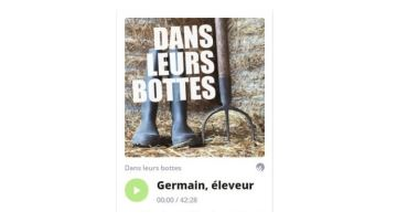 Un podcast pour prendre le p'tit déj «dans les bottes» d'un agri