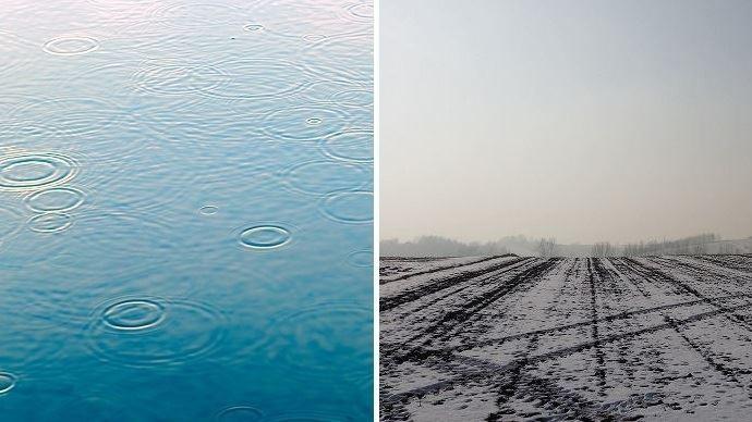 pluie et neige