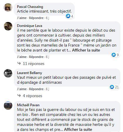 posts facebook terre net opposition labour et non labour