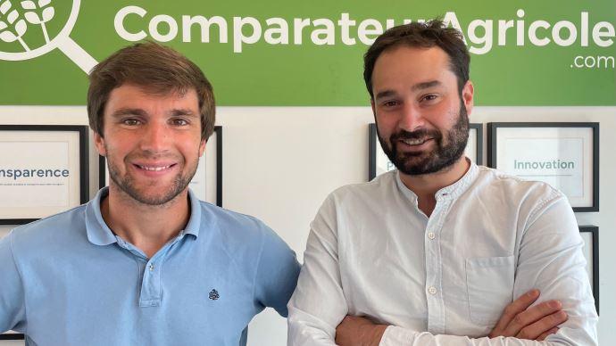 Les fondateurs de ComparateurAgricole