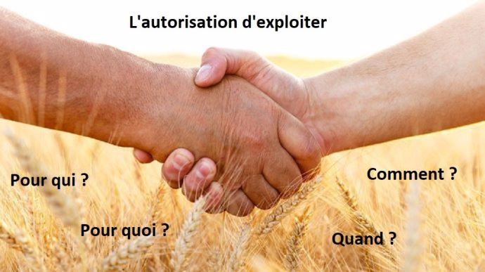transmission d exploitation agricole et de foncier autorisation d exploiter