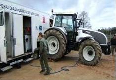1.000ème tracteur au banc d'essai
