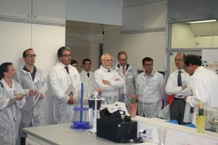 Un labo « santé des plantes » inauguré par Bayer