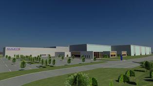 Une nouvelle usine Sulky en 2011