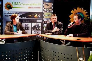 Vos rendez-vous de la Sima Terre-net Web Tv pendant le Sima