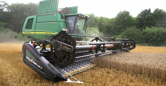 Barre de coupe Mac Don : Moins de puissance absorbée, plus de grains récoltés à l'heure