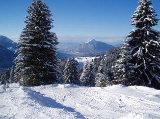 Retour de la neige en montagne