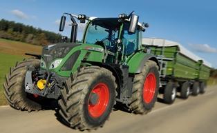 Tracteur 700 Vario
