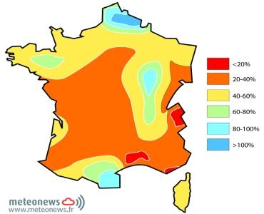 Mars 2012 aggrave la sécheresse en France