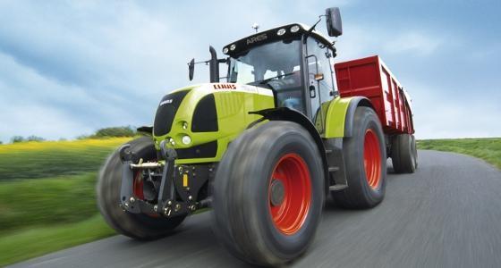 Claas Ares 697 ATZ, un des premiers vrais tracteurs Claas