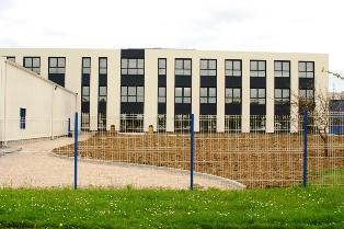 Le bâtiment Horizons au siège d'Isagri à Beauvais pour accueillir 250 collaborateurs.