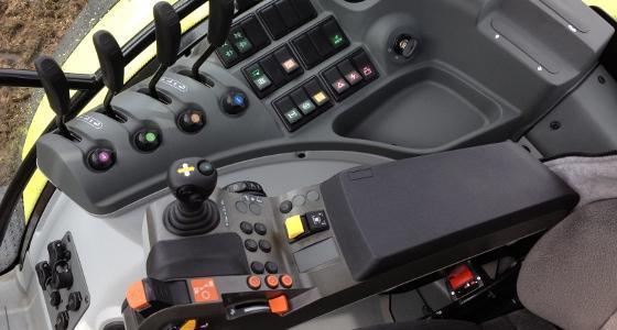 Version Cis de l'Axion 600 avec le nouvel accoudoir