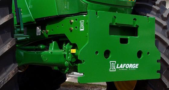 La plaque Setra compatible avec les tracteurs 6R de John Deere