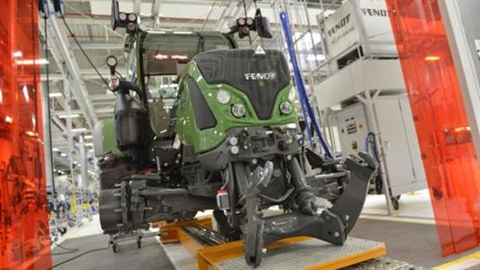 Nouvelle chaîne de production des tracteurs Fendt à Marktoberdorf