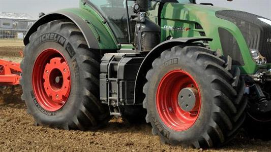 Michelin propose un AxioBib pour les tracteurs de forte puissance