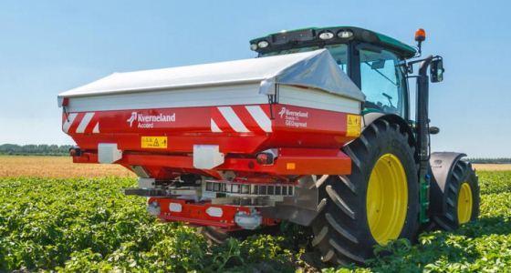 Plus besoin de descendre du tracteur pour régler son distributeur d'engrais