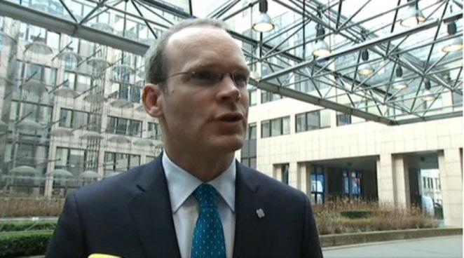 Simon Coveney, ministre irlandais de l'Agriculture.