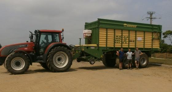 S. Le Saulnier (Eta) : « Mes clients sont satisfaits de la qualité de l'herbe »