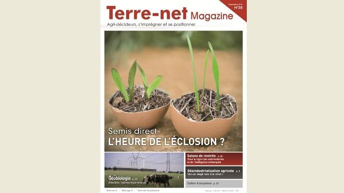Couverture Terre-net Magazine n°28