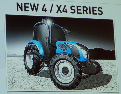 Tracteur Landini série 4