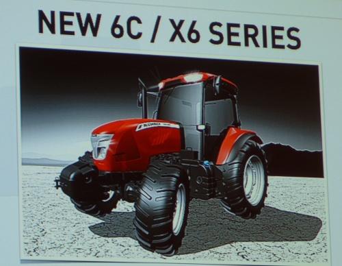 Tracteur McCormick X6