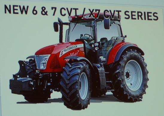 Transmission CVT chez Argo à Agritechnica