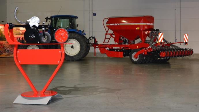 Une distribution monograine pour semer vos blés et autres céréales à 12 km/h !