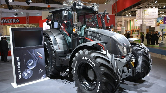 Tracteur Valtra Unlimited
