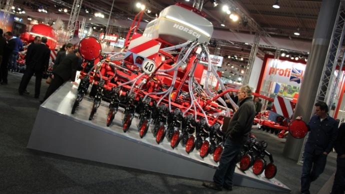 Horsch fait le pari du monograine à Agritechnica