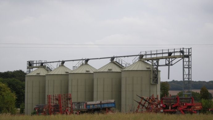 Profiter de la vague de froid pour abaisser la température des stocks de grains