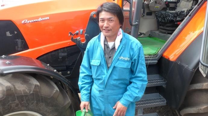 Shinobu Oono, agriculteur sur l'île d'Hokkaido au Japon