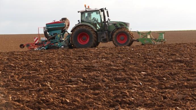 Fendt Tracteur 700 Vario Semis