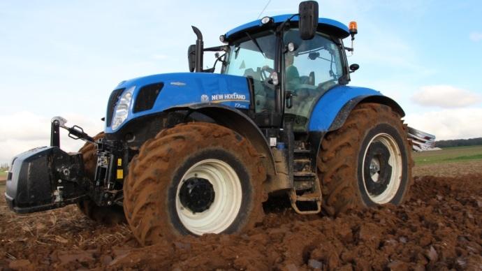 Les T7 représentent une grosse partie des tracteurs commerciliasés en 2013 par New Holland.
