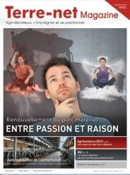 Couverture Terre-net Magazine n°31.